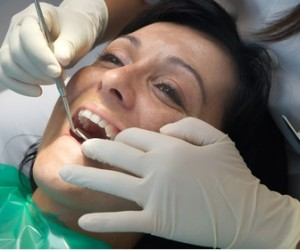 Working as a dentist