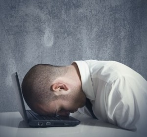 Dealing with job search frustration