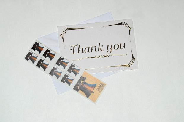 send a thank you letter