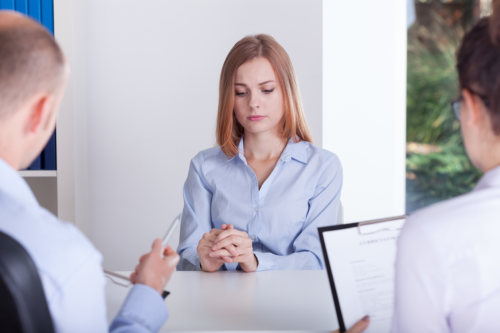 awkward interview