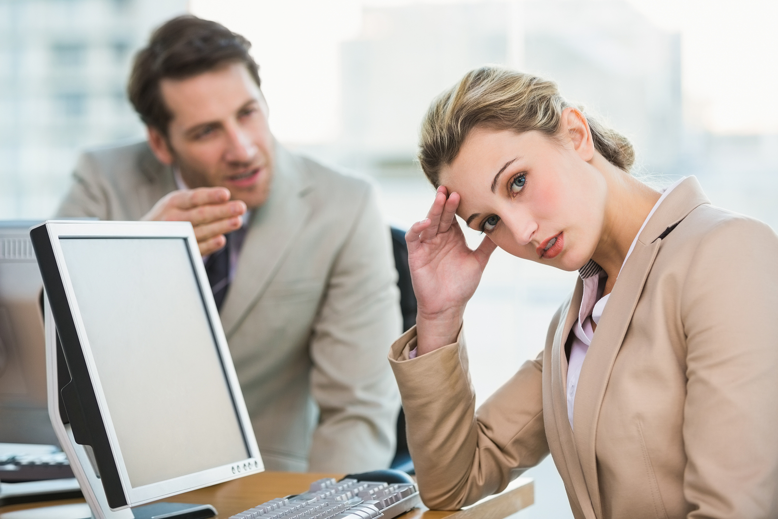 dealing with irritating co-workers